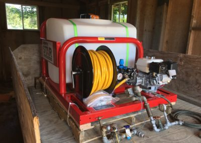 Chemigation Unit for Cranberry Grower
